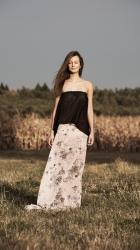 DVOUDÍLNÉ SPOLEČENSKÉ / LETNÍ ŠATY ve stylu BOHO kolekce ashaadox pro Vás 2016/2017 - model 28, informace v prokliku fotografie