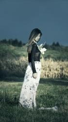 DVOUDÍLNÉ SPOLEČENSKÉ / LETNÍ ŠATY ve stylu BOHO kolekce ashaadox pro Vás 2016/2017 - model 32, informace v prokliku fotografie