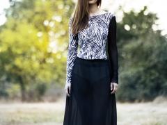 DVOUDÍLNÉ SPOLEČENSKÉ / LETNÍ ŠATY ve stylu BOHO kolekce ashaadox pro Vás 2016/2017, model 38, informace v prokliku fotografie