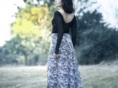 DVOUDÍLNÉ SPOLEČENSKÉ / LETNÍ ŠATY ve stylu BOHO kolekce ashaadox pro Vás 2016/2017, model 34, informace v prokliku fotografie