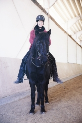 Simia & Ashaadox Academic Art of Riding with Claudia Strauss 12/2017