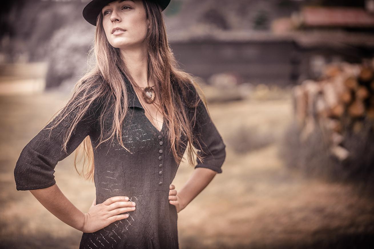 krajkové šaty ze salónu Hany Podolské