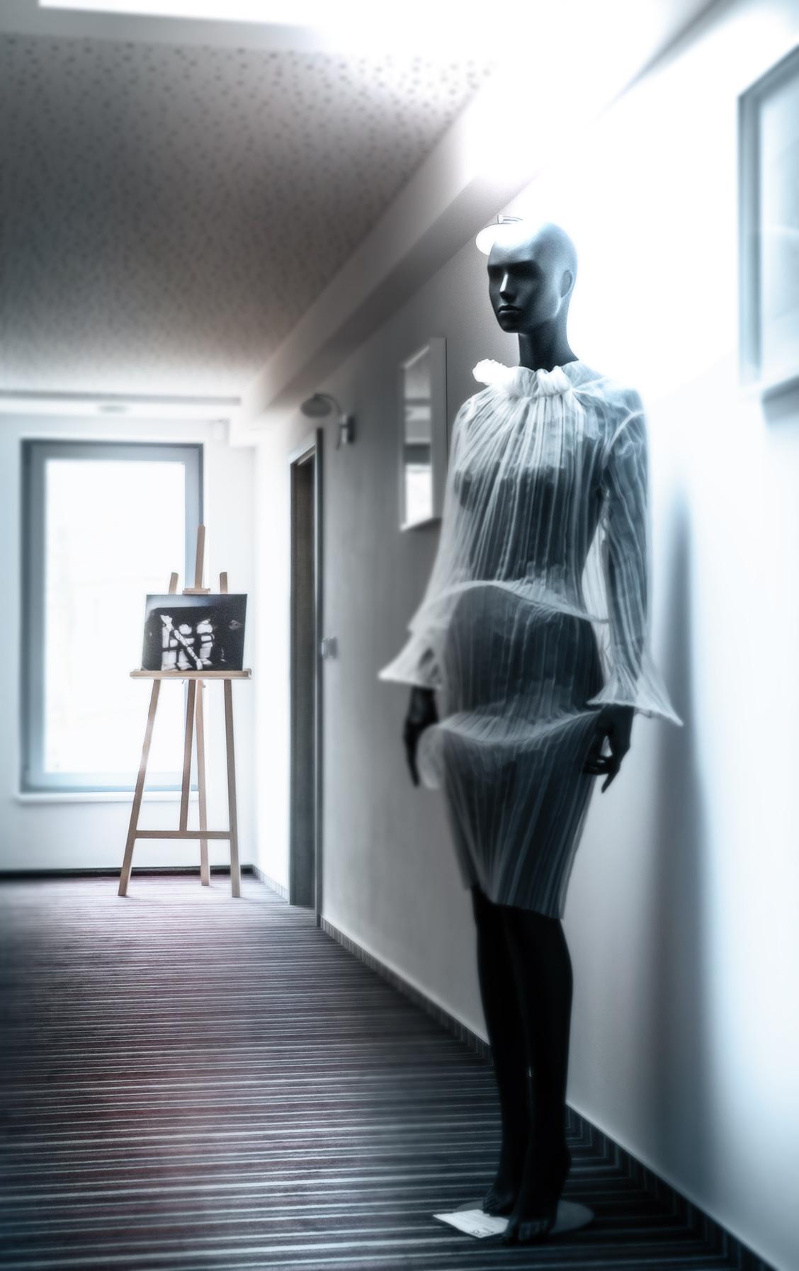 instalace k otevření hotelu Koruna v Chlumci nad Cidlinou art & photo by ashaadox