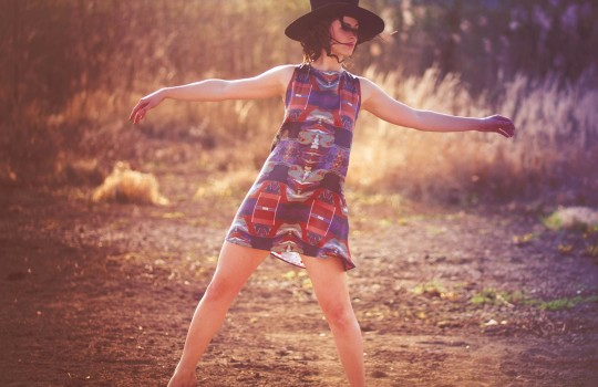 hedvábná sukně, top a šaty od ashaadox design