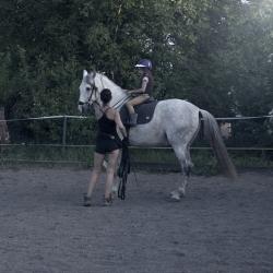Chiquito, PRE, stallion (*2006) & Yasmine Ema ( 7 y. old)